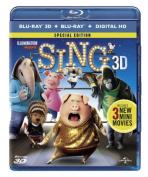 Sing (3D Blu-ray/Blu-ray/HD) [Region B] [Blu-ray]