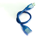 BSI 1pc Blue Replacement USB Charging Cable (0.3m / 30cm) For Nike+ Fuelband Fitness Tracker And Nike+ SportWatch GPS