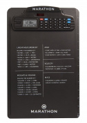 Marathon ST083016BK Clipboard Stopwatch w/ Calculator, Clock, Stopwatch & Timer