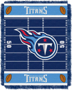 NFL Tennessee Titans Field Woven Jacquard Baby Throw Blanket, 90cm x 120cm