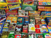GREAT LOT OF OLD UNOPENED BASEBALL CARDS IN PACKS Look for Hall-of-Famers Such As Cal Ripken, Ken Griffey Jr, Nolan Ryan, Frank Thomas, Don Mattingly , Wade Boggs, George Brett & Tony Gwynn.