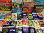 Superior Sports Investments Unopened Football Cards from the Late 80's and Early 90's