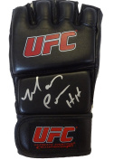 """Mark """"The Hammer"""" Coleman Autographed UFC Fight Glove W/PROOF, Picture of Mark Signing For Us, UFC, Ultimate Fighting Championship, Light Heavyweight, Heaveyweight, Pride Fighting Championship, Fedor Emelianenko, Mauricio Shogun Rua, Randy Couture, Mir .."""