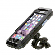 Waterproof iPhone 6/6S Bike Mount,IEKON Cycling Bike Handlebar Mobile Phone Holder ,Shockproof Weatherproof Case Cover and Bicycle Mountcase