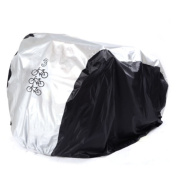 LiliChan Bike Cover for 3 Bikes - Heavy Duty Waterproof All Weather Outdoor Bicycle Cover