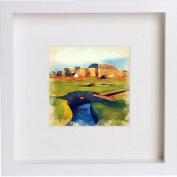St Andrews Old Course Hotel Framed Artwork / Picture / Photo / Memorabilia Frame | Unique Gift 25x25 cm