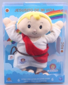 Child Jesus Plush toy 2.1 30 cm. Prayers 6 languages