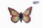 Red Butterfly Soft Toy by Hansa.14cm 7103