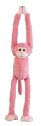 Pink Monkey Soft Toy - Hanging 55cm