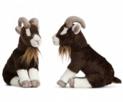 Sitting Goat Plush Soft Toy by Living Nature