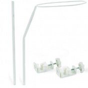 Canopy Bar for Baby Cot Bed Includes Fixing Clamps