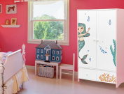 'I-love-Wandtattoo Ilws . 19 . for Curve Nursery Furniture Sticker Girls under the sea the World Is Full of Colour Fish Set Stick-On Sticker Stickers FOR FURNITURE Decorative Sticker Mermaid