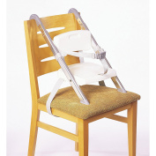 Portable Booster Seat - Folds flat, take it anywhere colour white