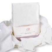 Emma & Noah Muslin Squares, 10 Pack, 100% Cotton, Oeko-Tex 100, washable at 90°C, 70 cm x 70 cm, Silky Soft Baby Muslins, Colour