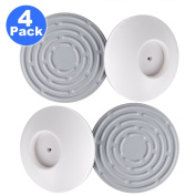 Austor 105 MM Baby Safety Wall Guard Pads Wall Protector Saver for Pressure Gates, 4 Pack