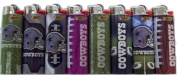 Bic Lighters Dallas Cowboys NFL Officially Licenced Full Size 8pc Set