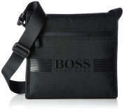 BOSS Green Pixel_b Zip Env, Men's Shoulder Bag, Schwarz (Black), 27x27x7 cm