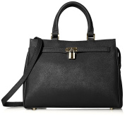 Letizia Women's Abigail Tote Bag, Black