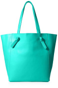 KC Jagger Women's Dakota Knotted Shopper Tote, Kelly Green