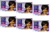 6x Relaxer/Smoothing Cream Dark and Lovely Moisture Plus No Lye Relaxer Super