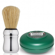 Proraso Shaving Brush Boar Bristle Proraso Shaving Soap 75 ml