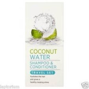 3 X Coconut Water Shampoo & conditioner (2 X 50ml) Travel Set