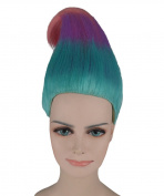 Trolls Movie Cosplay Costume Wig Tri-Colour ANHW-281UK Adult