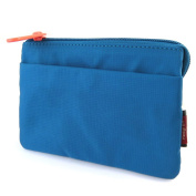 "Wallet 'Hedgren'turquoise (3 compartments)- 15x10.5x1.5 cm (5.91""x4.13""x0.59"")."