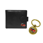 Mini Cooper leather wallet and keyring