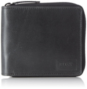 BOSS Orange Pulse_z Around, Men's Wallet, Schwarz (Black), 11x9.5x2 cm