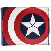 Avengers Captain America Civil War Shield Coin Card Bi-Fold Wallet