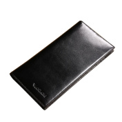 Genuine Leather Handbag Organiser Card Case Long Bifold Wallet