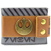 Star Wars Rogue One Rebel Buttoned Brown ID & Card Bi-Fold Wallet
