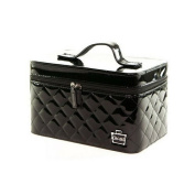 Caboodles I Candy Makeup Cosmetic Train Case (Black Patent) by Caboodles