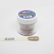 GLAM AND GLITS GLOW IN THE DARK ACRYLIC COLOUR POWDER - SHOOTING STAR GL2021