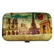 Souvenirs of France - Paris Monuments Manicure Kit - Beige