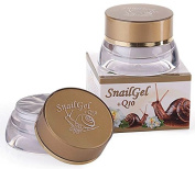 Pure Fresh Snail extract Anti-age Face gel cream + Q10 + Rose water