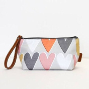 Caroline Gardner Layered Hearts Cosmetics Bag