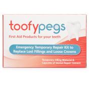 Toofypegs Emergency Dental Repair Kit x 2