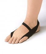 Ashipita One Touch Black Size LL - Medical footware for cold feet, circulatory problems, bunions, heel spurs, DFS, Tailor`s bunion