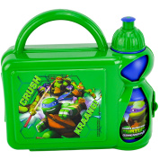 Teenage Mutant Ninja Turtles F108307 Hard Case Lunch Box with Bottle