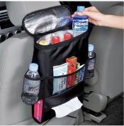AK-U02 Car Seat Back Organiser,Multi-Pocket Travel Storage Bag