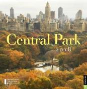 Central Park 2018 Wall Calendar