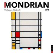 Mondrian 2018 Wall Calendar