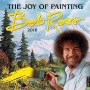 Bob Ross 2018 Wall Calendar