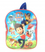Paw Patrol Junior Backpack Ryder & Pups Childrens Kids Rucksack School Bag Blue