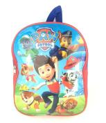 Paw Patrol Junior Backpack Ryder & Pups Childrens Kids Rucksack School Bag Blue