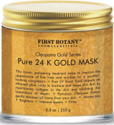 The BEST 24 K Gold Facial Mask 260ml - Gold Mask for Anti Wrinkle Anti Ageing Facial Treatment, Pore Minimizer, Acne Scar Treatment & Blackhead Remover