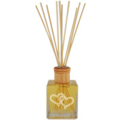 Personalised Reed Diffuser Complete with oil Double Heart