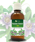 PASSION FLOWER OIL 100% NATURAL PURE UNDILUTED UNCUT CARRIER OIL 50ML